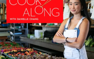 Danielle Chang and Lucky Chow